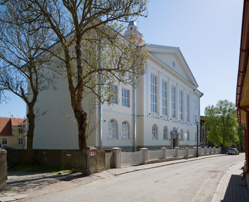 Реставрация Ляэнемааской общей гимназии