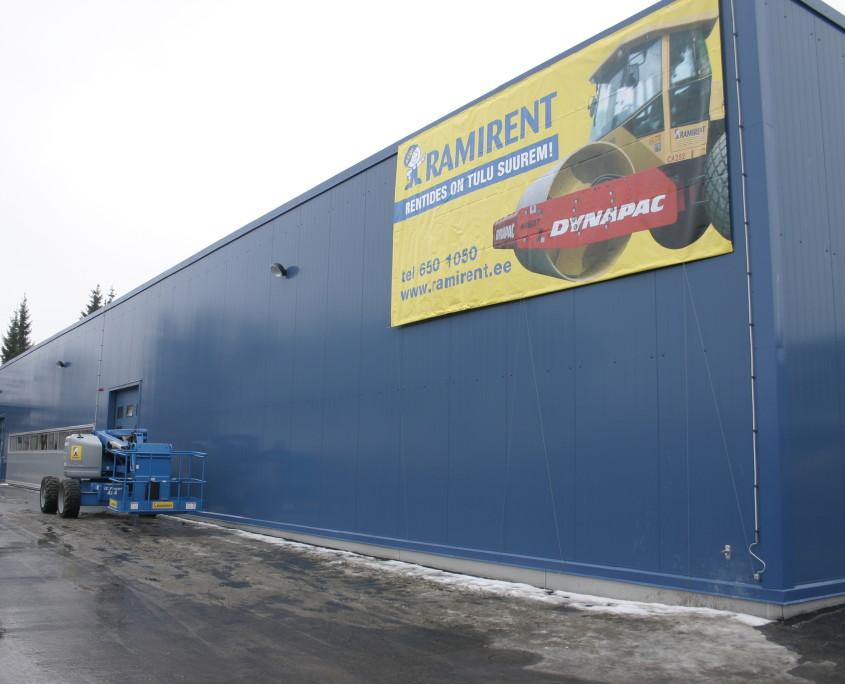 Здание сервиса Ramirent